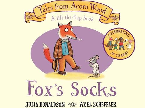 Julia Donaldson - Fox's Socks (AGE 2+) (HARDBACK)