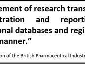 Pharma industry: Clinical trial transparency will help to attract global investment to UK
