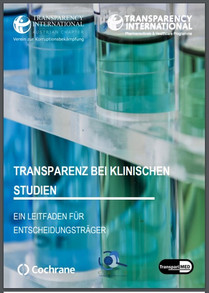 Transparency International launches German translation of clinical trial transparency study