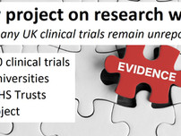 New project: How many UK clinical trials remain completely unreported?