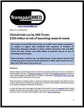 TranspariMED - Research waste in trials