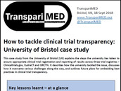 How universities can get all clinical trial results reported – Bristol case study
