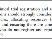 Most US universities still lack clinical trial registration and reporting policies, new study finds