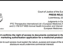 Victory for medical transparency: Europe upholds access to Clinical Study Reports