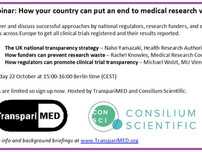 Webinar: How your country can end medical research waste (22 October 15:00 CEST)