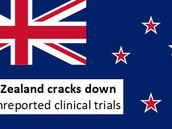 New Zealand cracks down on unreported clinical trials
