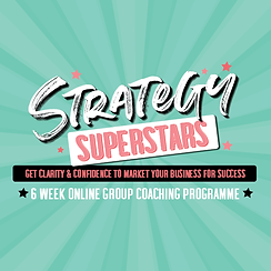 Strategy Superstars Marketing Planning 6 Week Online Group Coaching Programme