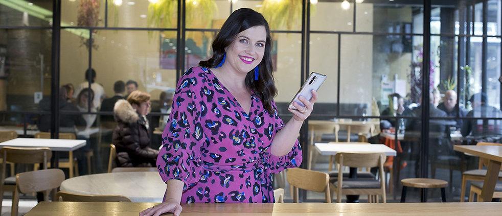 Wendy Tibbotts of Zigzag Creative doing social media marketing
