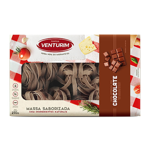 Massa Saborizada Chocolate 250g