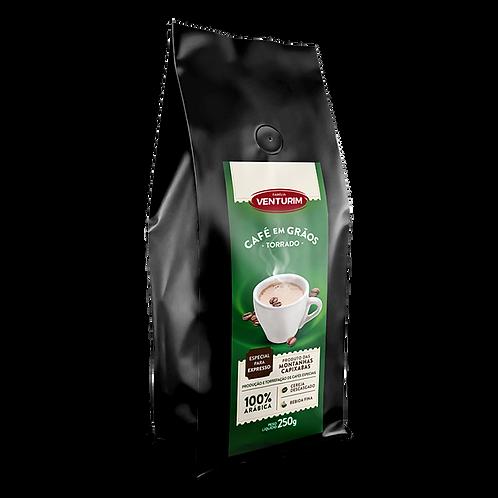Café Especial para Expresso em Grãos 250g