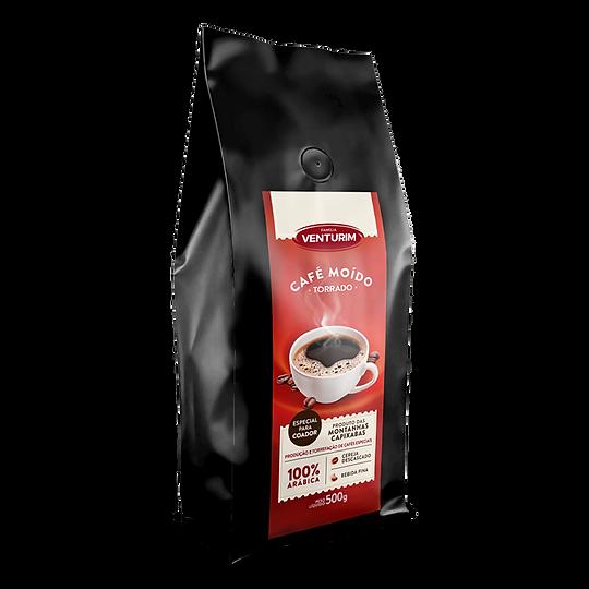 Café Moido Torrado Gourmet 500g - Famíli