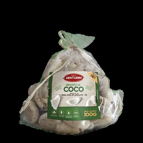 Biscoito de Coco Diet 100g
