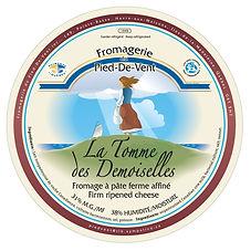 Fromagerie du Pied-De-Vent La Tomme des Demoiselles
