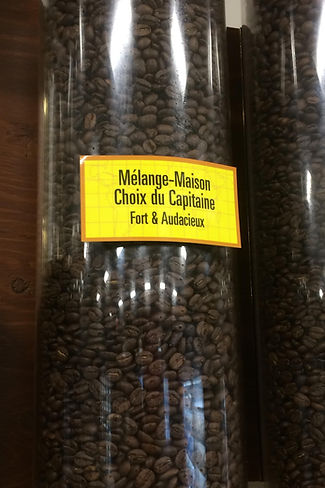 Café Choix du Capitaine fort et Audacieux Boulangerie Madelon