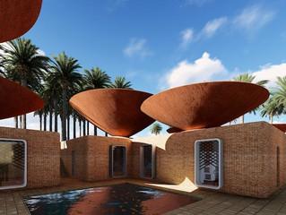En Iran, ces toits étranges offrent une climatisation naturelle ! Explications