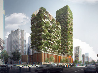 Nanjing Vertical Forest : ces gratte-ciel promettent de réduire la pollution