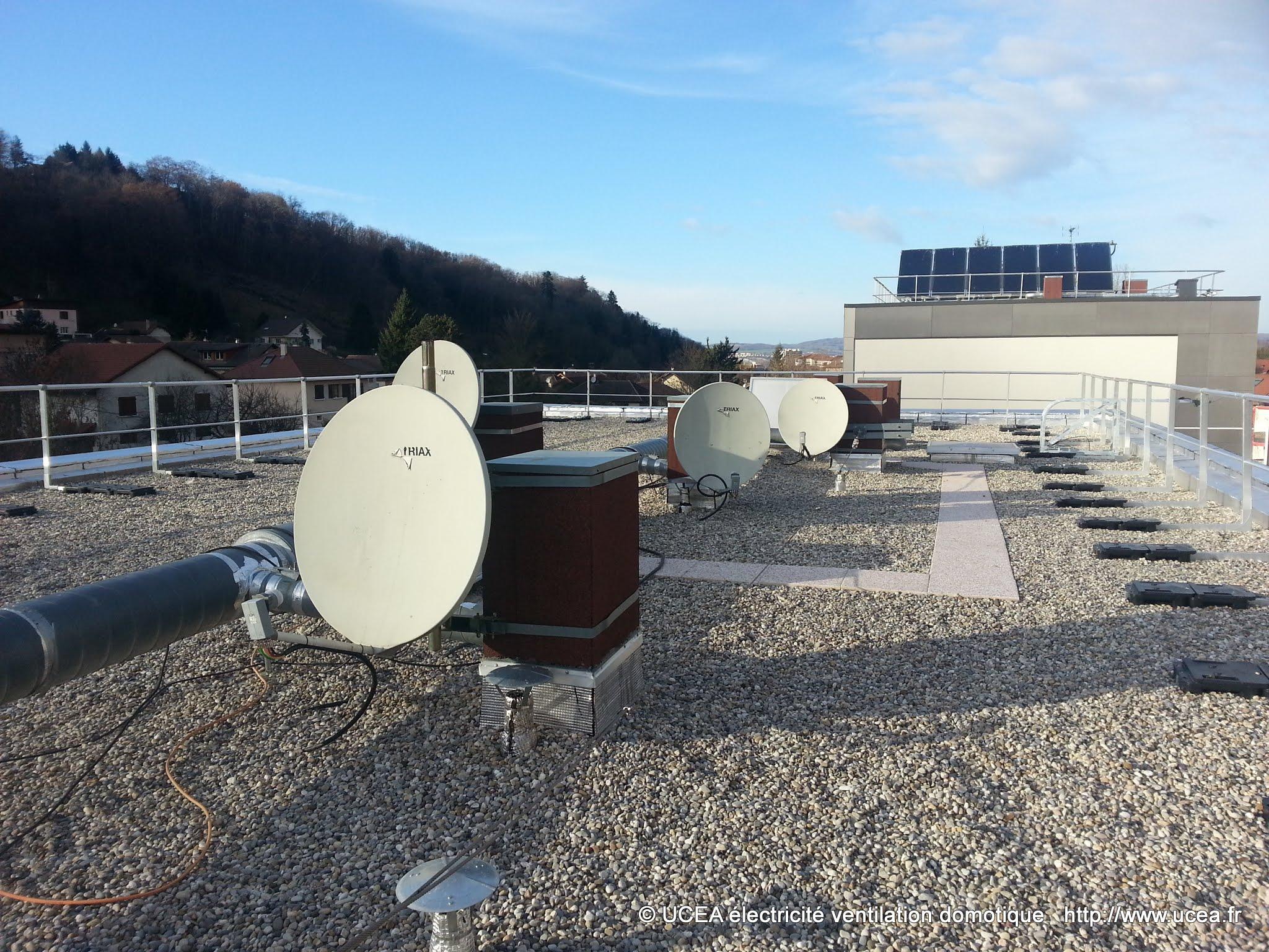 Antenne satellite et TNT