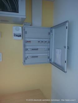 armoire électrique école Les Echelles