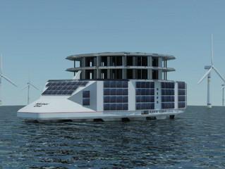 Une plateforme flottante pour unifier toutes les énergies marines