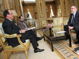 Le Président Hollande attentif aux demandes de la CAPEB
