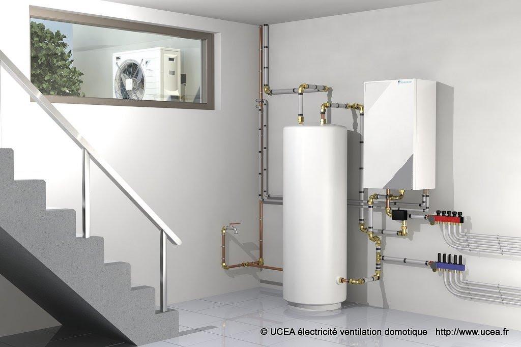 PAC air eau unité interieure