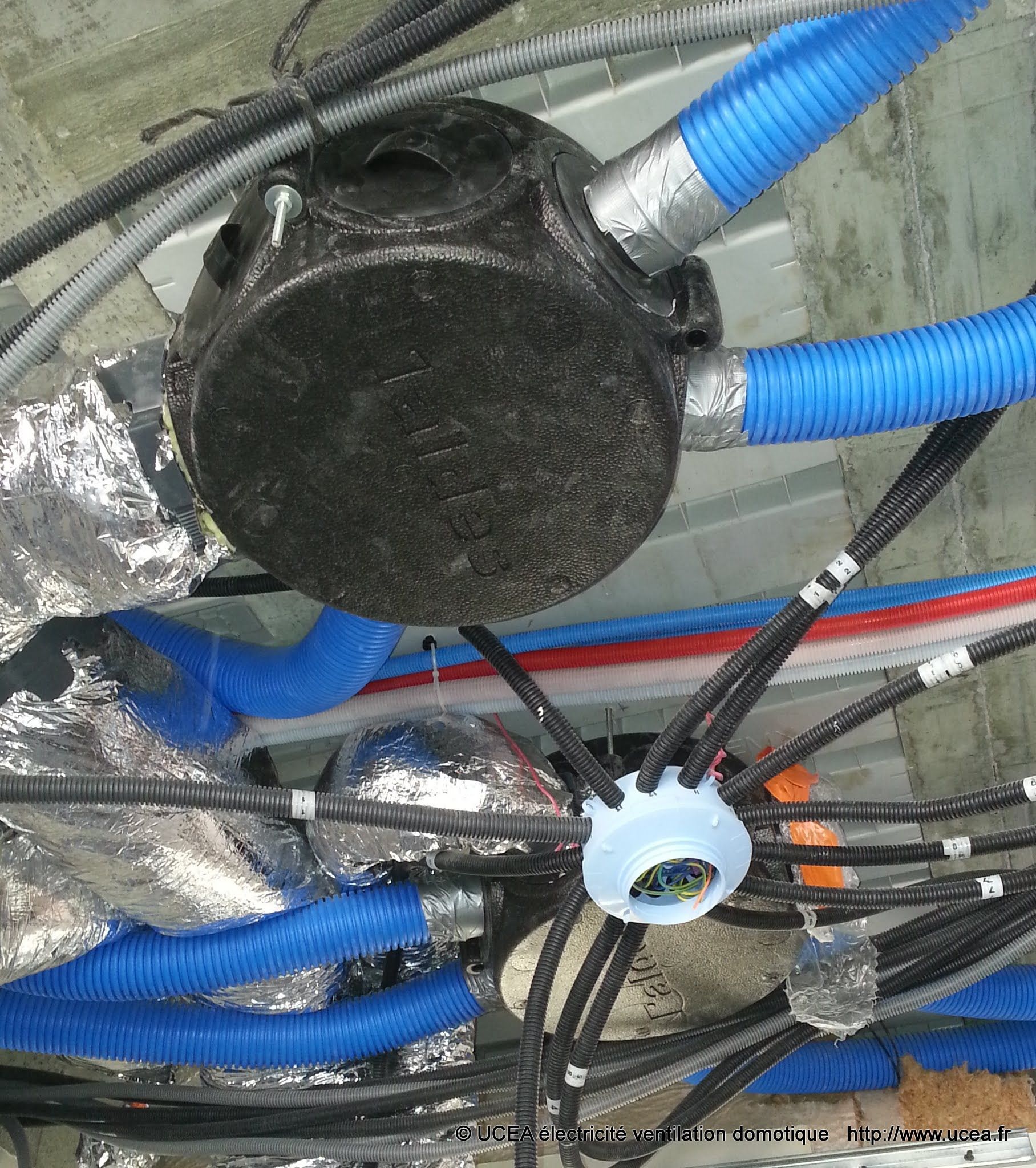 Incorporation VMC et électricité