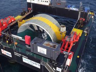 La seconde hydrolienne EDF mise à l'eau