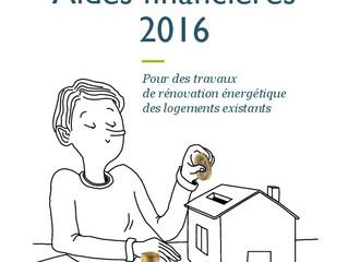 Nouveau guide des aides financières pour la rénovation de l'Ademe