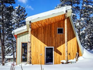 Andrew Michler a construit sa maison passive lui-même et peut en être fier