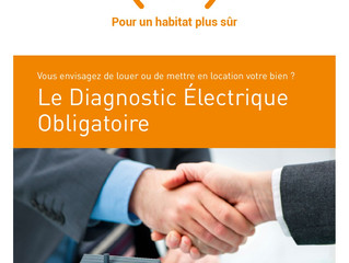 Diagnostic électrique obligatoire au 1er juillet 2017