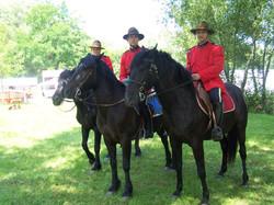 Police Montée canadienne à Cheval