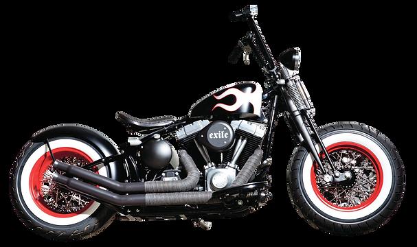PNGPIX-COM-Harley-Davidson-Black-Motorcy