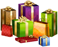 Wrapped_Gifts_Transparent_PNG_Clip_Art_I
