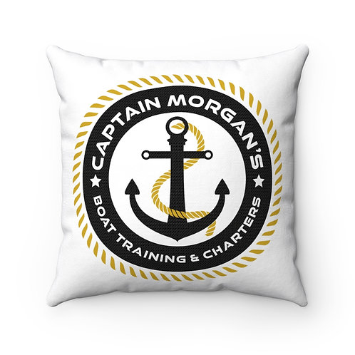 Spun Polyester Square Pillow, Front Design Only, Price Includes Shipping