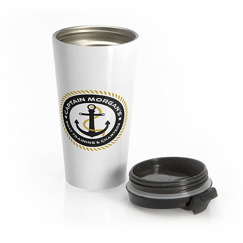 Stainless Steel Travel Mug, Price Includes Shipping