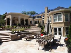 backyard patio, backyard remodel