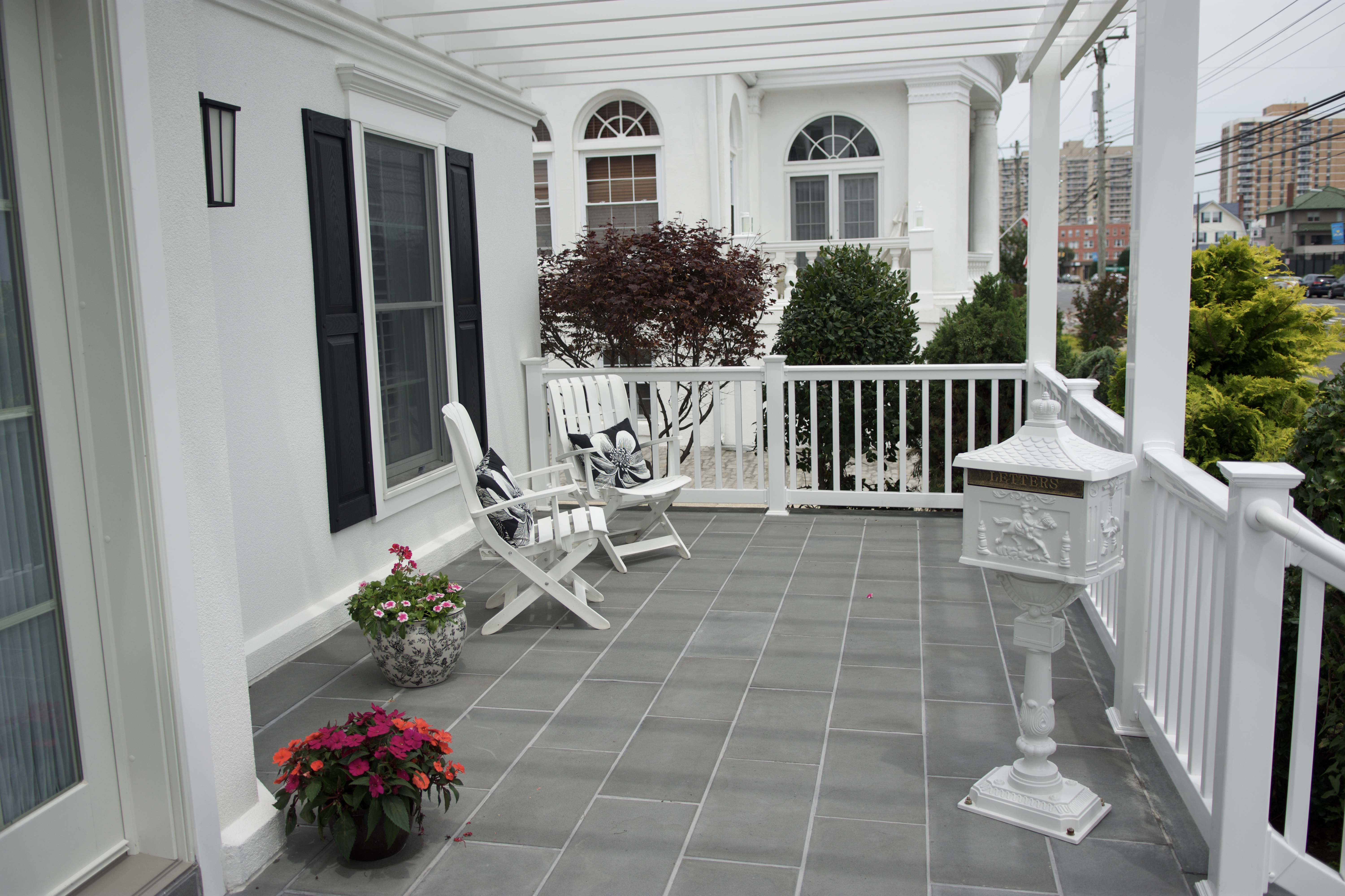 Bluestone Front porch