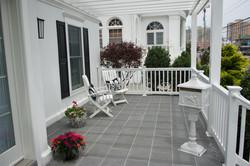 Bluestone Front porch