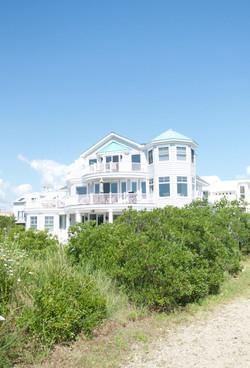 beachfront home, decking, brigantine