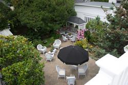 Existing garden area