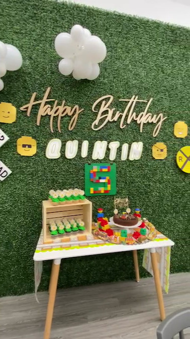 Lego Themed Birthday Party at Kids City Adventure!