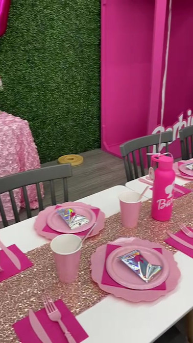 Barbie Themed Birthday Party at Kids City Adventure!