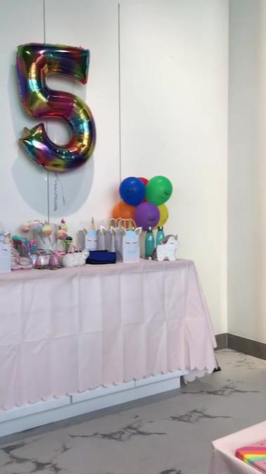Unicorn Themed Birthday Party at Kids City Kapolei!
