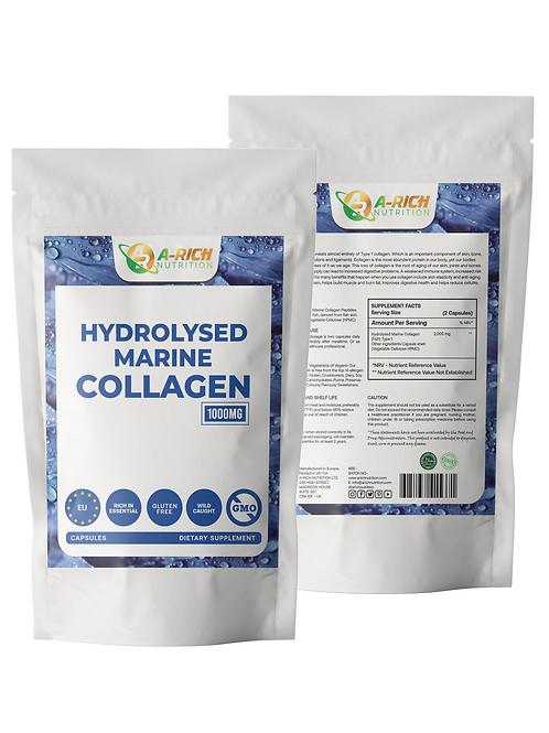 Hydrolysiertes Meereskollagen 1000 mg