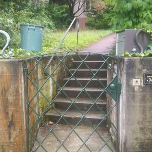 Sanierung Gartentor