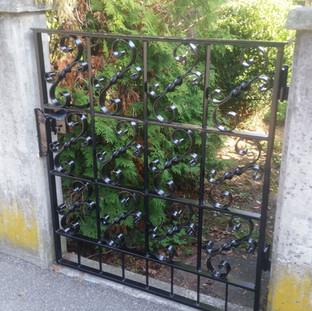 Gartentor restaurieren