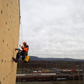 Fassaden Kletterer