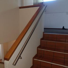 Treppenhandlauf Edelstahl