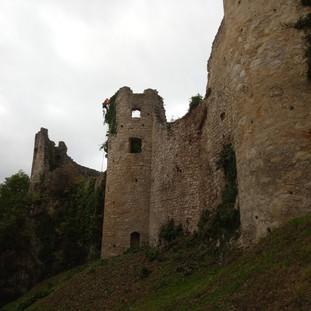 Höhenarbeiter Ruine Dorneck