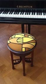 Art-Deco Piano stool